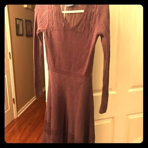 Vera Wang lavender sweater dress